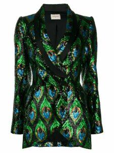 Giuseppe Di Morabito double-breasted embellished blazer - Green