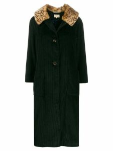 Bellerose Haider cord coat - Green
