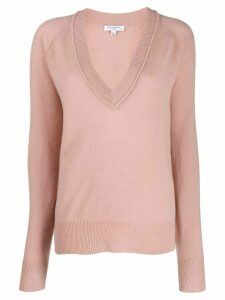 Equipment long-sleeve fitted sweater - PINK