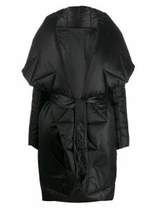 Norma Kamali oversized padded coat - Black