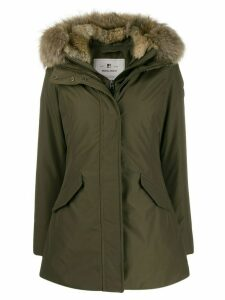 Woolrich hooded down parka - Green