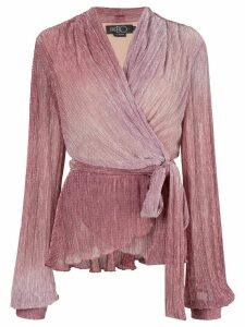 Patbo Ombre wrap top - Pink