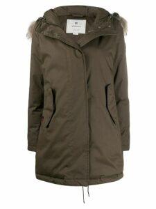Woolrich hooded down jacket - Green
