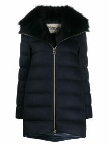 Herno padded down coat - Blue