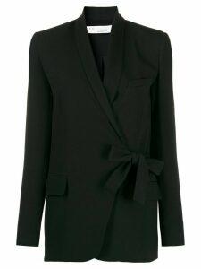 IRO bow-tie detail blazer - Black