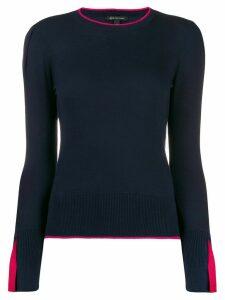 Armani Exchange round neck jumper - Blue