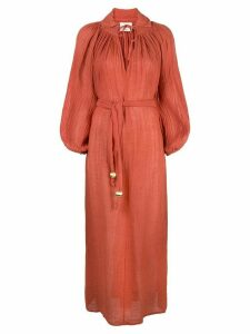 Lisa Marie Fernandez Poet maxi dress - Red