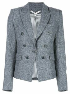 Veronica Beard Diego Dickey fitted blazer - Blue