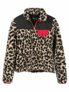 Veronica Beard Kylan Sherpa pull-over jacket - Multicolour