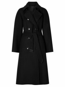 Burberry double-faced trench coat - Black