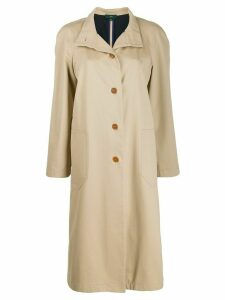 Jejia loose-fit trench coat - NEUTRALS