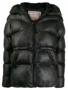 Hunter A-Line puffer jacket - Black
