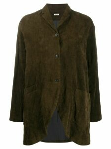Apuntob corduroy single-breasted blazer - Brown