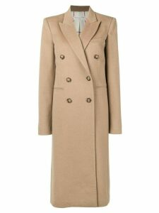 Victoria Beckham double-breasted long coat - Neutrals