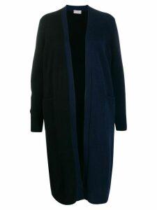 MRZ two-tone cardi-coat - Black