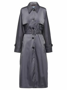 Prada belted trench coat - Grey