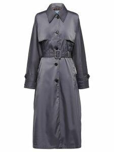 Prada belted trench coat - Grey