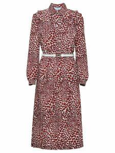 Prada heart print dress - Red