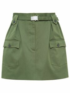 Miu Miu drill skirt - Green