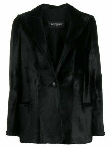 Simonetta Ravizza Isa notched blazer - Black