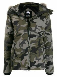 Canada Goose Chelsea camouflage print parka - Green