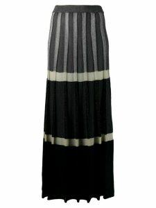 Antonio Marras tiered maxi dress - Grey