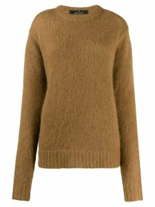 Rokh chunky knit jumper - Brown