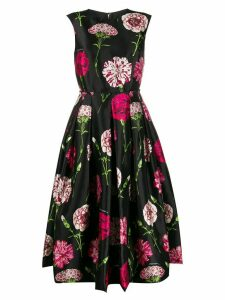 Dolce & Gabbana floral print midi dress - Black
