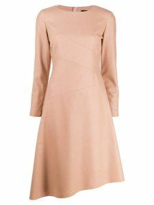 Paule Ka asymmetric dress - Neutrals