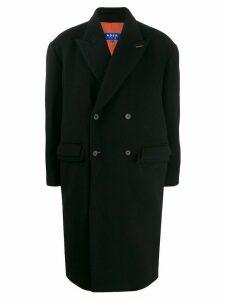 Ader Error long boxy fit coat - Black