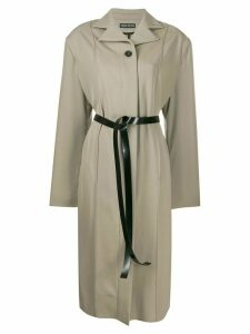 Kwaidan Editions oversized trench coat - Neutrals