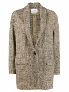 Isabel Marant Étoile shawl collar blazer - Brown