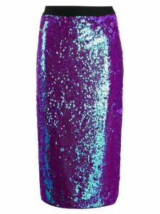 Essentiel Antwerp Temptation sequin pencil skirt - Purple