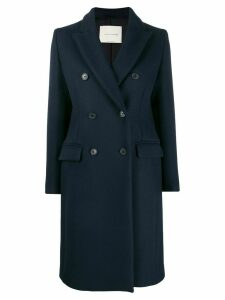 Mackintosh ALLOA Dark Navy Wool Chesterfield Coat LM-1003F - Blue