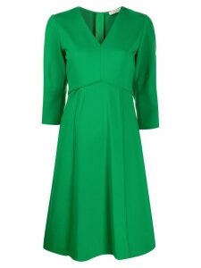 Dorothee Schumacher empire line short dress - Green