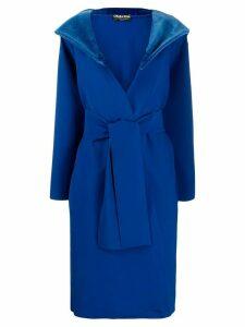 Le Petite Robe Di Chiara Boni Lizeth belted coat - Blue