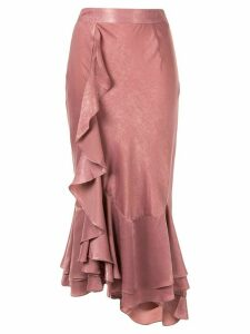 We Are Kindred Frenchie ruffle skirt - PINK