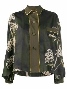 F.R.S For Restless Sleepers floral print buttoned blouse - Green