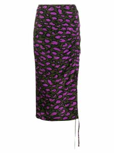 Essentiel Antwerp leopard print skirt - Green