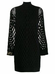 Fendi mesh knit dress - Black