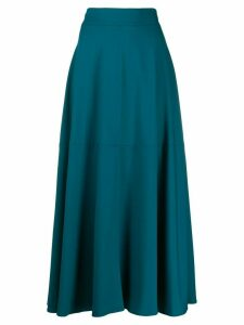 Federica Tosi pleated midi skirt - Blue