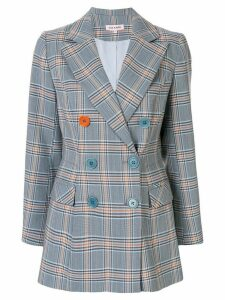 Dice Kayek assorted button feature blazer - Blue