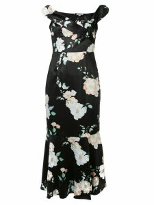 We Are Kindred Clover floral-print dress - Black