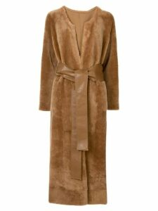 Rejina Pyo Claire shearling coat - Brown