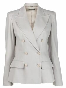 Alberta Ferretti double-breasted blazer - Grey
