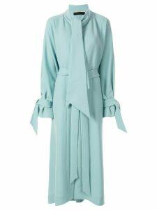 Roland Mouret Dorchester trench coat - Blue