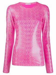 Saks Potts shimmer top - Pink
