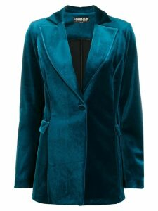 Le Petite Robe Di Chiara Boni single-breasted blazer - Blue