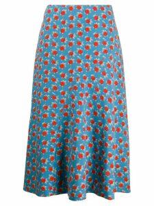 Essentiel Antwerp floral print skirt - Blue