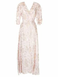 We Are Kindred Hallow wrap dress - Pink